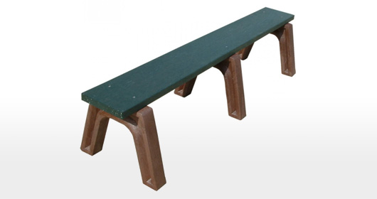 Landmark 6 Foot Flat Bench