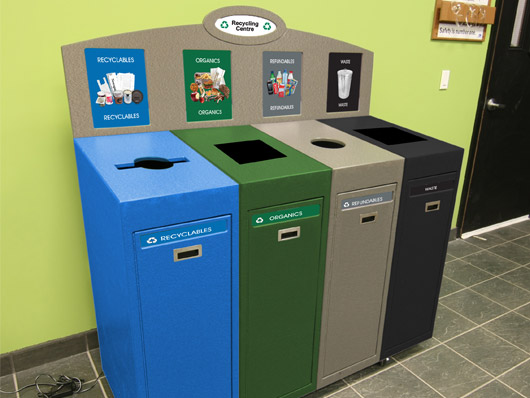 6262Recycled Recycler Front Service Recycling Station 
