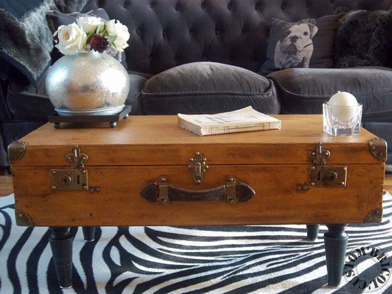 Upcycling the unusual into the unexpected waste wise for Table valise